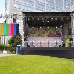 Betriebsfest mit Outdoorbühne