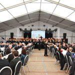 großes Zelt für Firmenfeier in Essen mieten